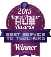 Dance Hub 2015 best service to teachers winner